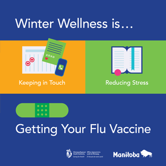 Get your flu shot graphic