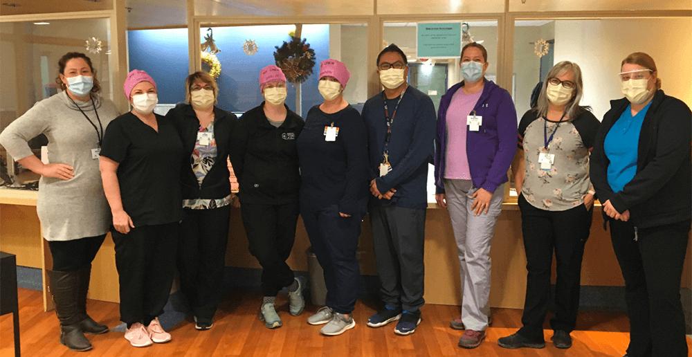Photo of the Community Intravenous Team