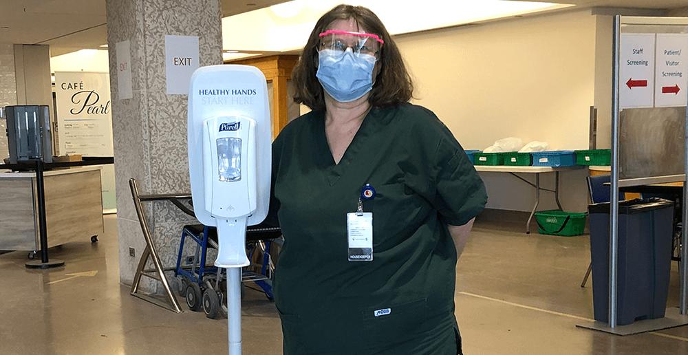 Photo of Iris - Housekeeping Department, Grace Hospital