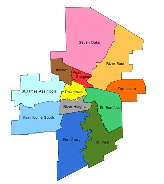 LHIG Area Map