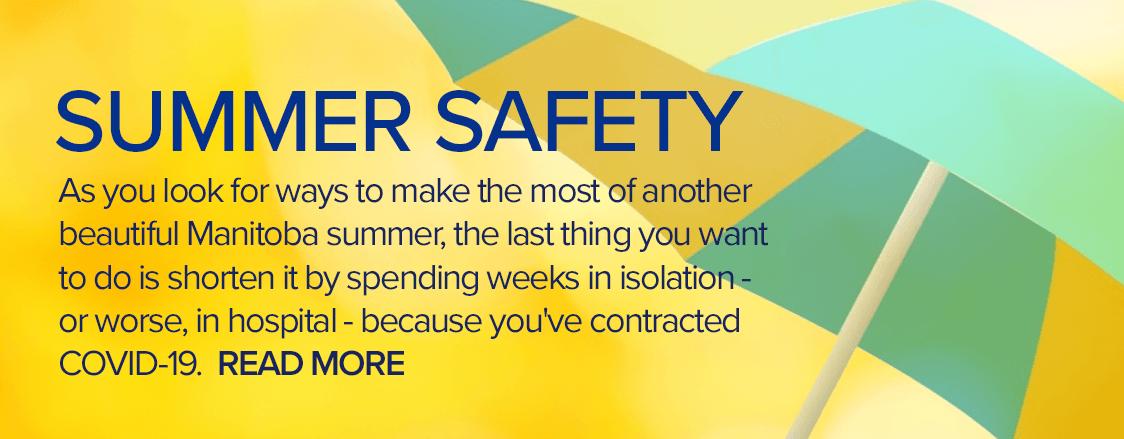 Summer safety: keeping COVID-19 at bay
