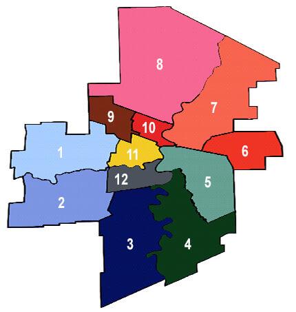 Volunteer Opportunities Map
