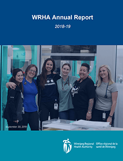 WRHA Annual Report 2018/2019 Cover